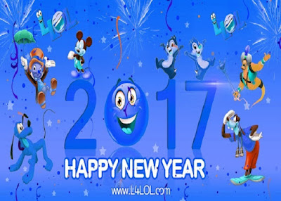 2017 New Year Fun Loving Messages