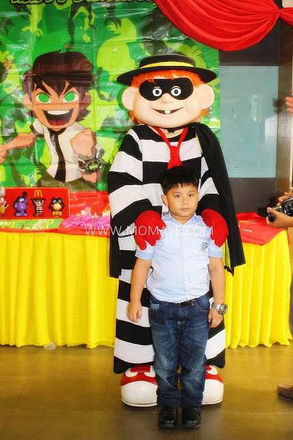 7th Birthday, McDonald's, McCelebration, Hamburglar