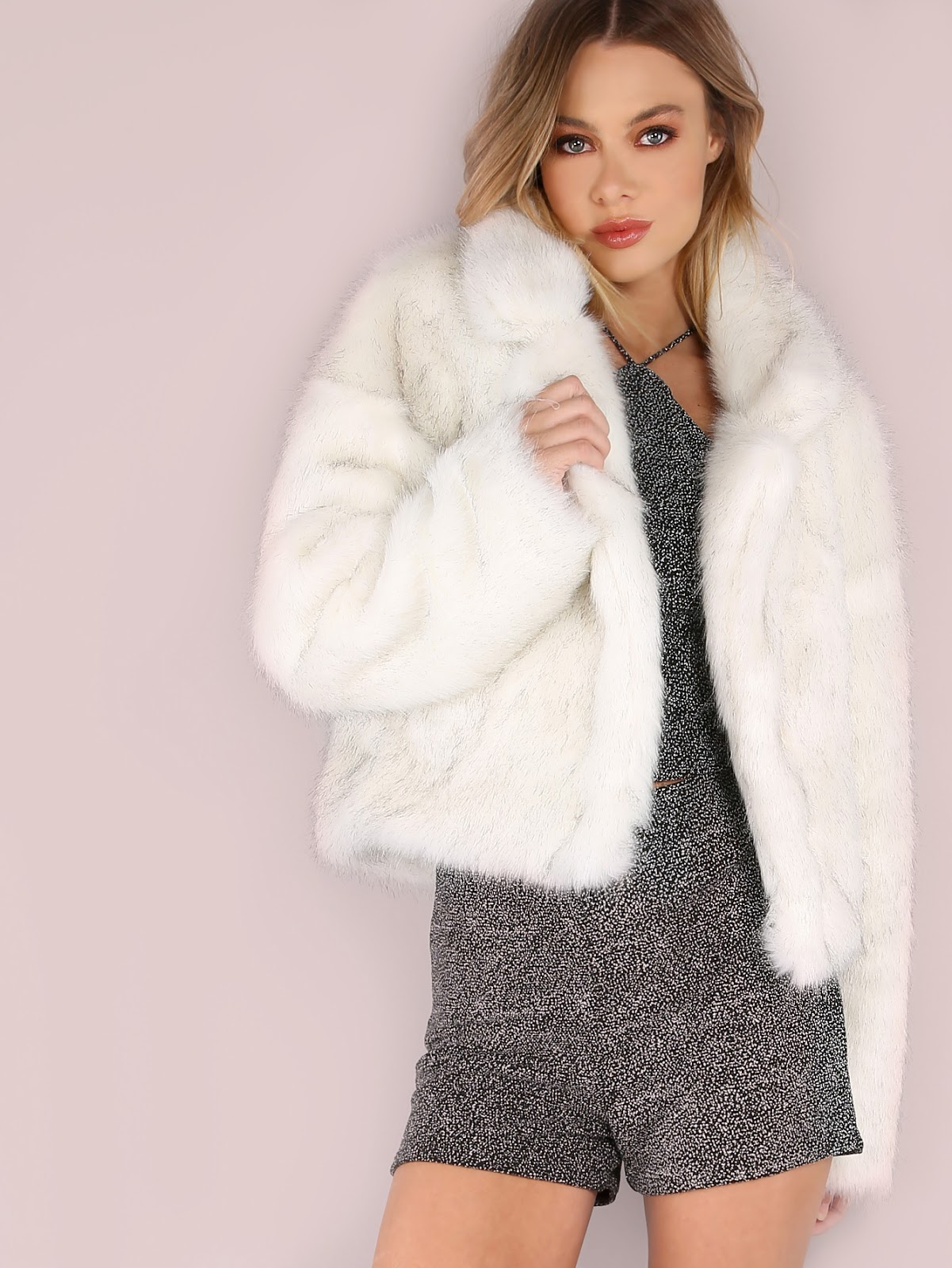 cheap faux fur coat