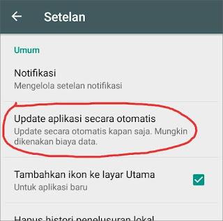 Cara Menghentikan Update Otomatis Aplikasi Android 3