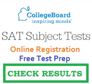 Full list of SAT TEST SUBJECTS