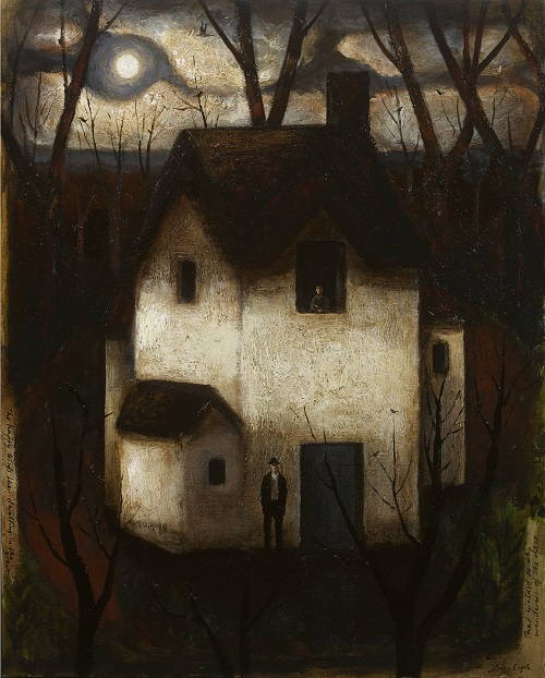 "Artwork, art, painting: ""That Yielded to the Wanderer of the Deep"" by John Caple, 2017"