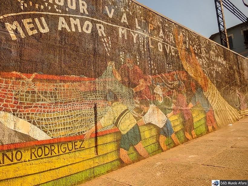 Grafites em Valparaíso - Diário de Bordo Chile: 8 dias em Santiago e arredores