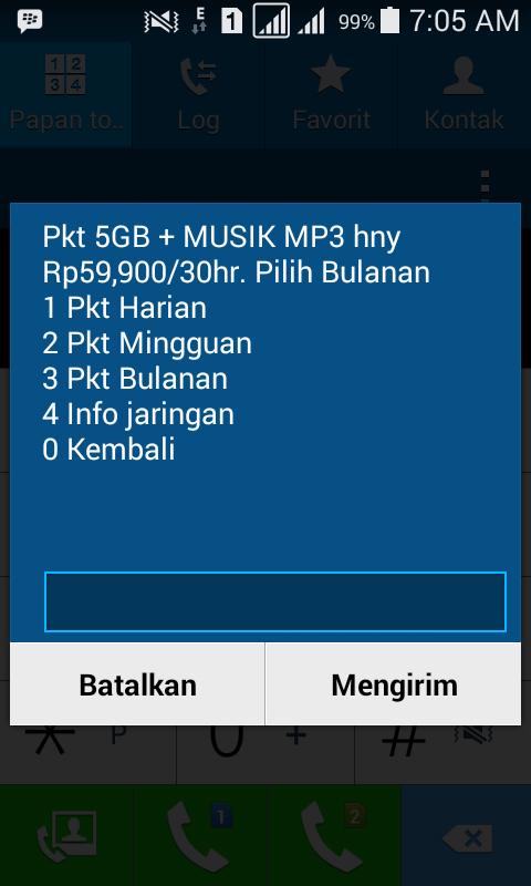 Aktivasi Paket Internet Indosat IM3