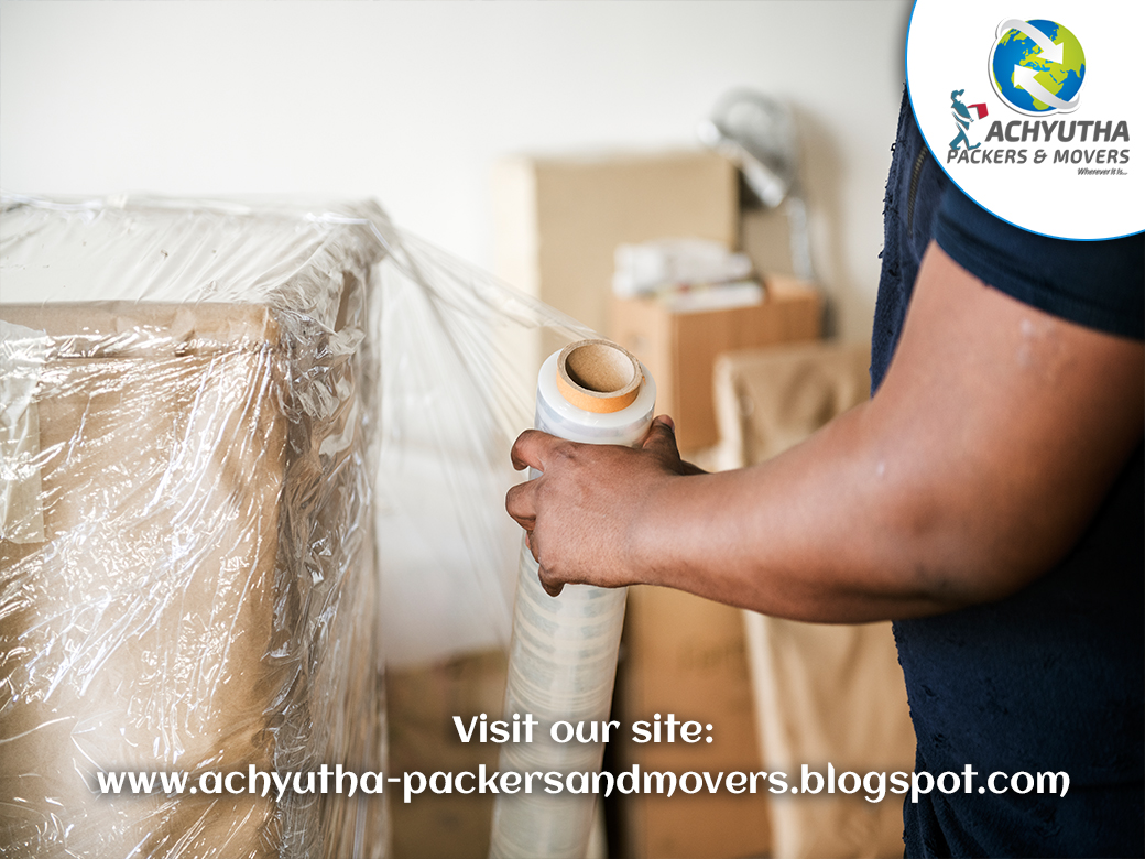 Achyutha Packers and Movers Working images