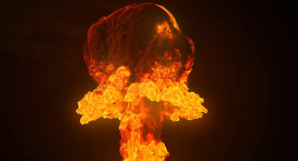 PHOTO : Les effets d'une frappe thermonucléaire sur Moscou et la France simulés aux États-Unis
