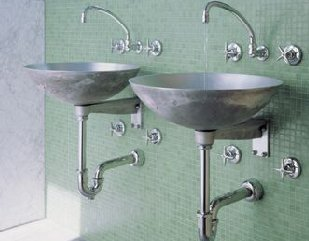 Bathrooms And Interior Design Exposed Sinks
