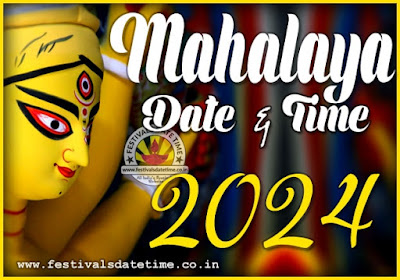 2024 Mahalaya Date and Time in India, 2024 Mahalaya Pooja Timing Schedule