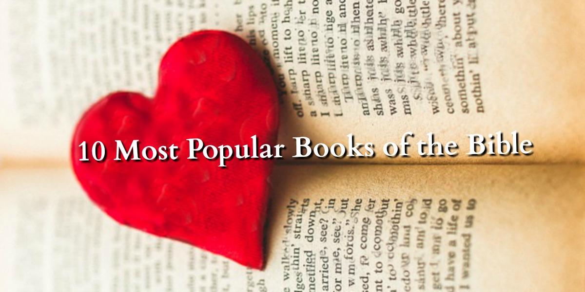 1 Minute Bible Love Notes The 10 Most Popular Books Of The Bible