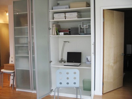 Decora y disena 10 ideas de armarios convertidos escritorios - Armarios oficina ikea ...