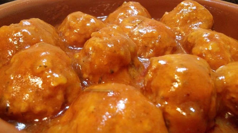 Albóndigas en salsa de tomate en Slow Cooker