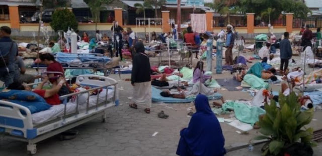 Gempa-Tsunami Sulteng: Warga Tak Menyadari Pusat Gempa Justru di Tempat Mereka Mengungsi