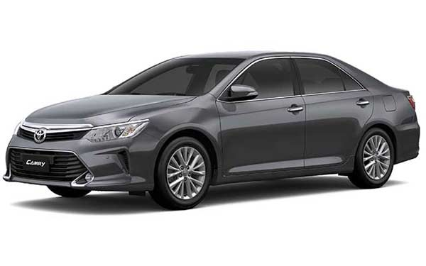 New Toyota Camry - Grayish Blue Mica Metallic