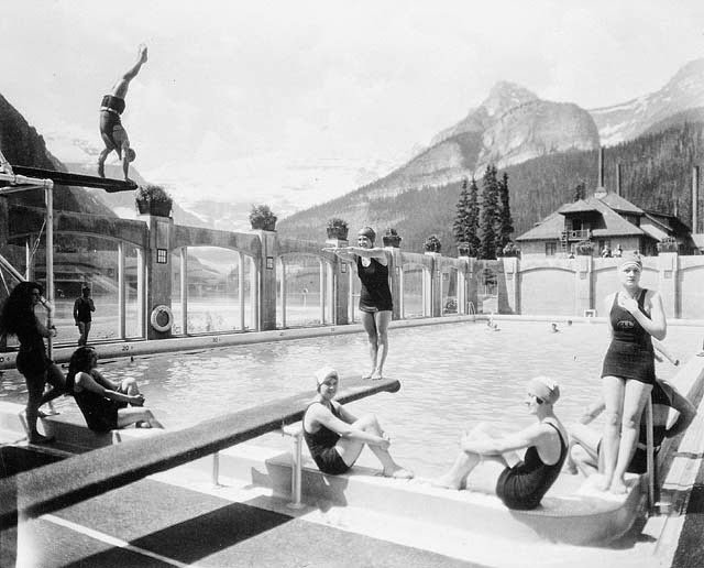 The passion of former days going for a swim - University of alberta swimming pool ...