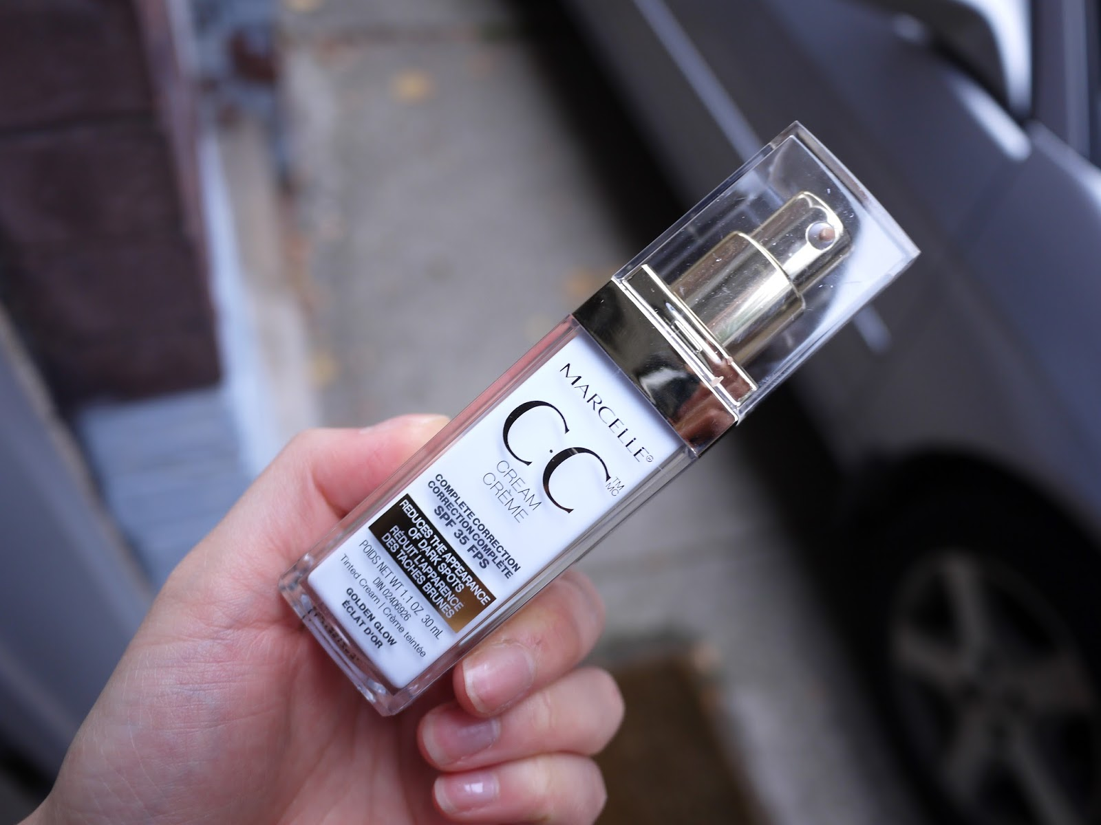 Marcelle CC Cream Golden Glow review