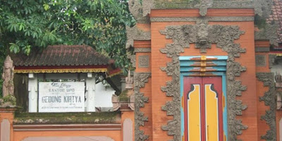 Museum Gedong Kirtya Buleleng.