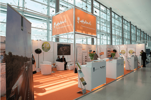 business benefits attending exhibitions
