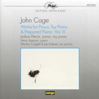 John Cage, Works for Piano, Toy Piano, and Prepared Piano: Vol. III, Wergo, Joshua Pierce
