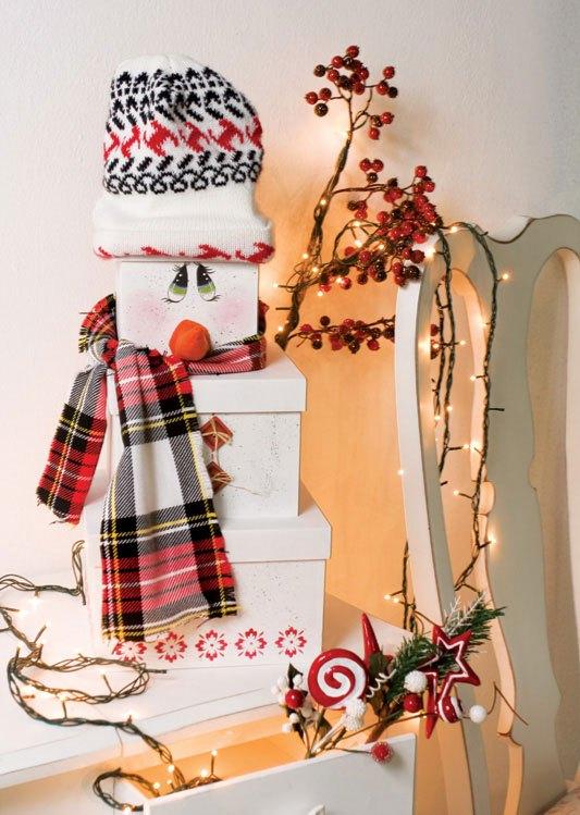 Adornos navide os con cajas para decorar el hogar lodijoella - Adornos navidenos para el hogar ...