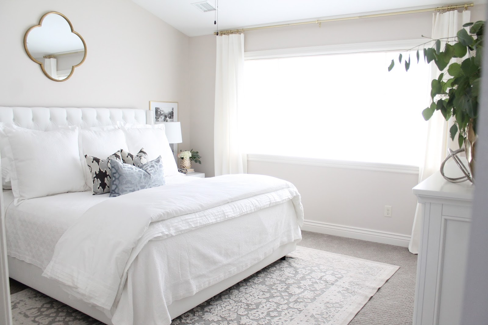 12th and white: master bedroom reveal