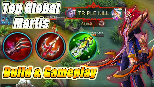 Cara Build Martis Mobile Legends FULL DAMAGE