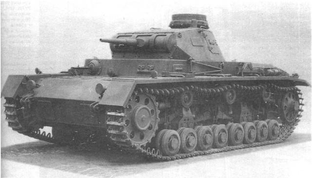 Немецкий танк Pz. III Ausf.D