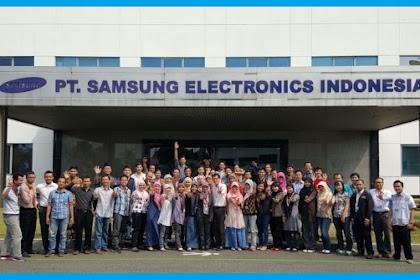 Lowngan Kerja Terbaru PT. Samsung Electronics Indonesia (PT SEIN)