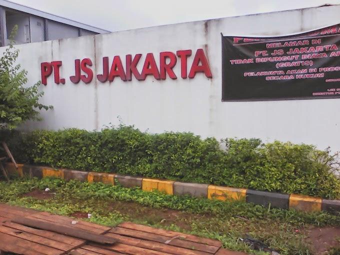 Lowongan Kerja untuk Tahun 2019 PT JS Jakarta Cileungsi - Bogor Terbaru
