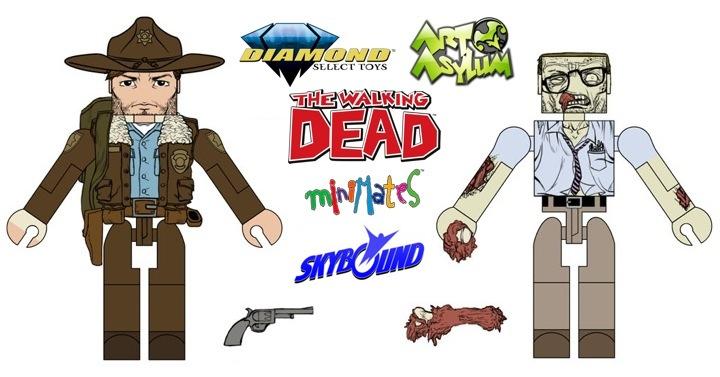 The Movie New! Walking Dead Rick Grimes, Minifigure Lego Heroes Custom
