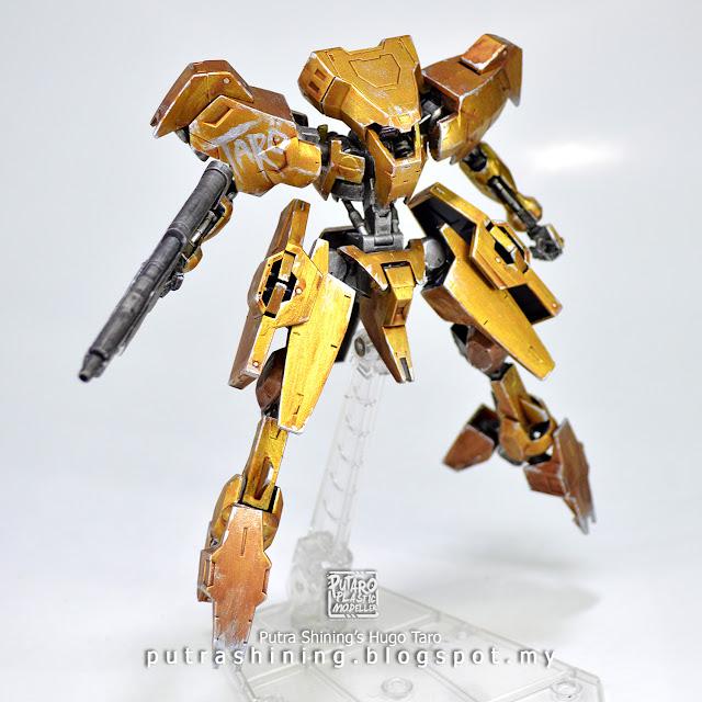 HGIBO 1/144 Hugo Taro Gold by Putra Shining