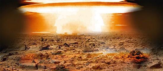 Explosão Nuclear em Marte