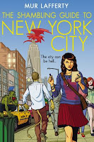 Book cover of The Shambling Guide to New York City by Mur Lafferty