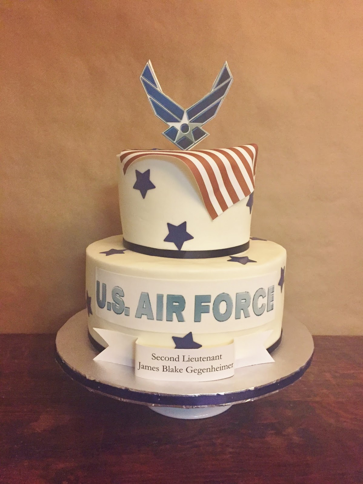Cakes by mindy u s air force cake 6 10 for Air force cakes decoration