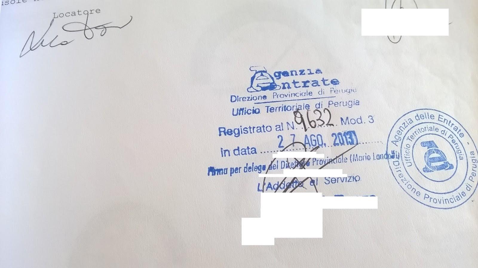 Calcolo codice identificativo locazione f24 for Contratto di locazione arredato