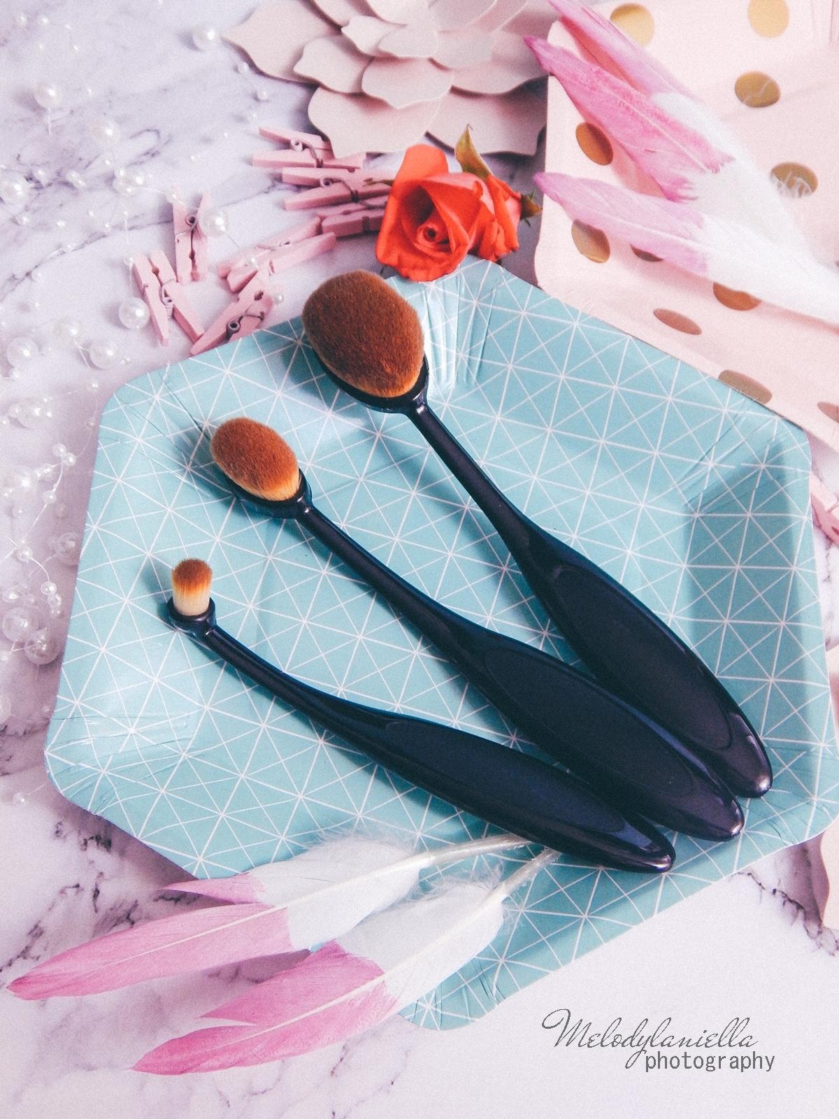 7 clavier gąbka do makijażu blending sponge szczoteczka do aplikacji cieni bazy korektora rozświetlacza bronzera silikonowa gąbeczka do makijażu czym się malować akcesoria kosmetyczne pędzle do makijażu gąbki