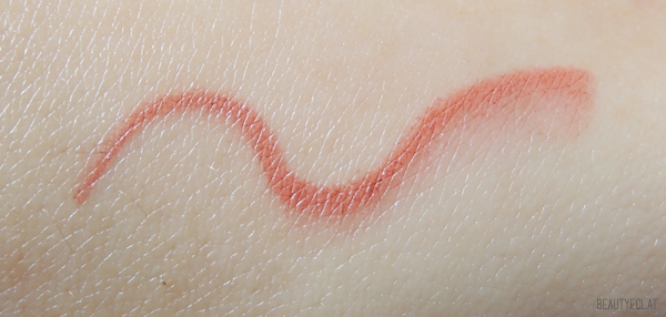 revue avis test laura mercier haute lips full colour swatch potpourri