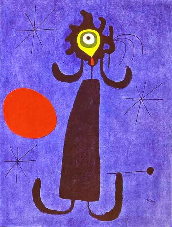 Mulher ao Sol - Miró, Joan e suas principais pinturas