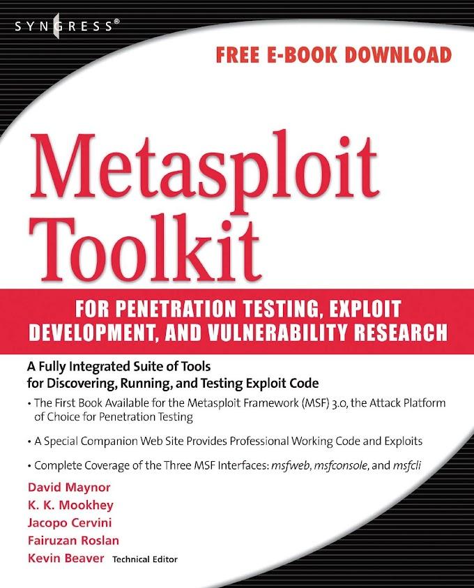 E-Book Metasploit Toolkit Free Download