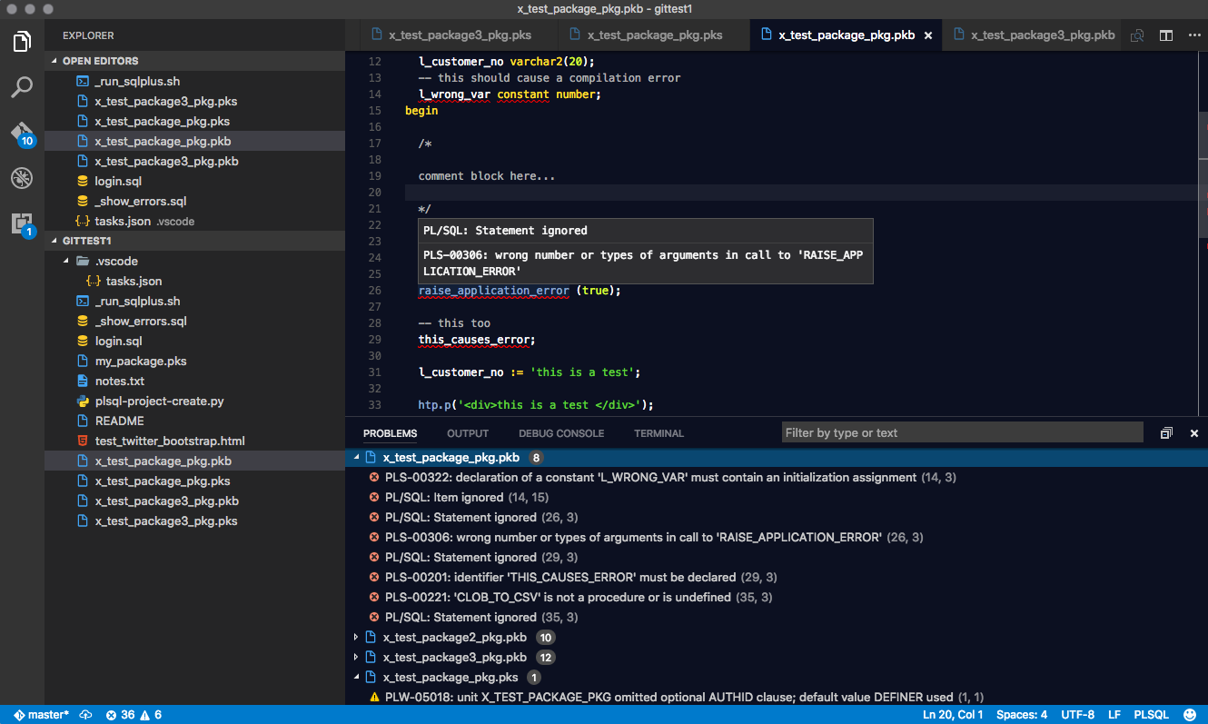 Ora 00001 unique constraint violated using vs code for plsql ive been using sublime text as my main editor for plsql development for many years but im now in the process of switching to visual studio code vs baditri Choice Image