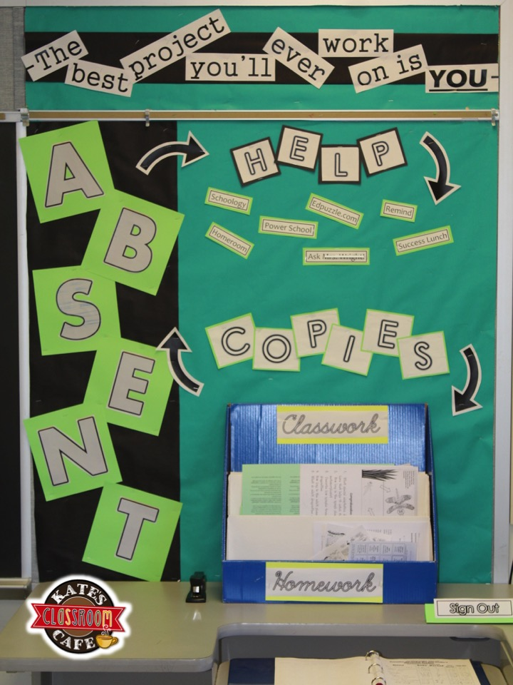 6th Grade English Classroom Decorations ~ Kate s science classroom cafe setting up your secondary