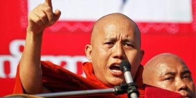 Biksu Buddha Anti-Muslim Myanmar : Donald Trump Mirip Dengan Saya