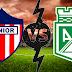 Transmisión del partido Junior vs Atlético Nacional EN VIVO ONLINE