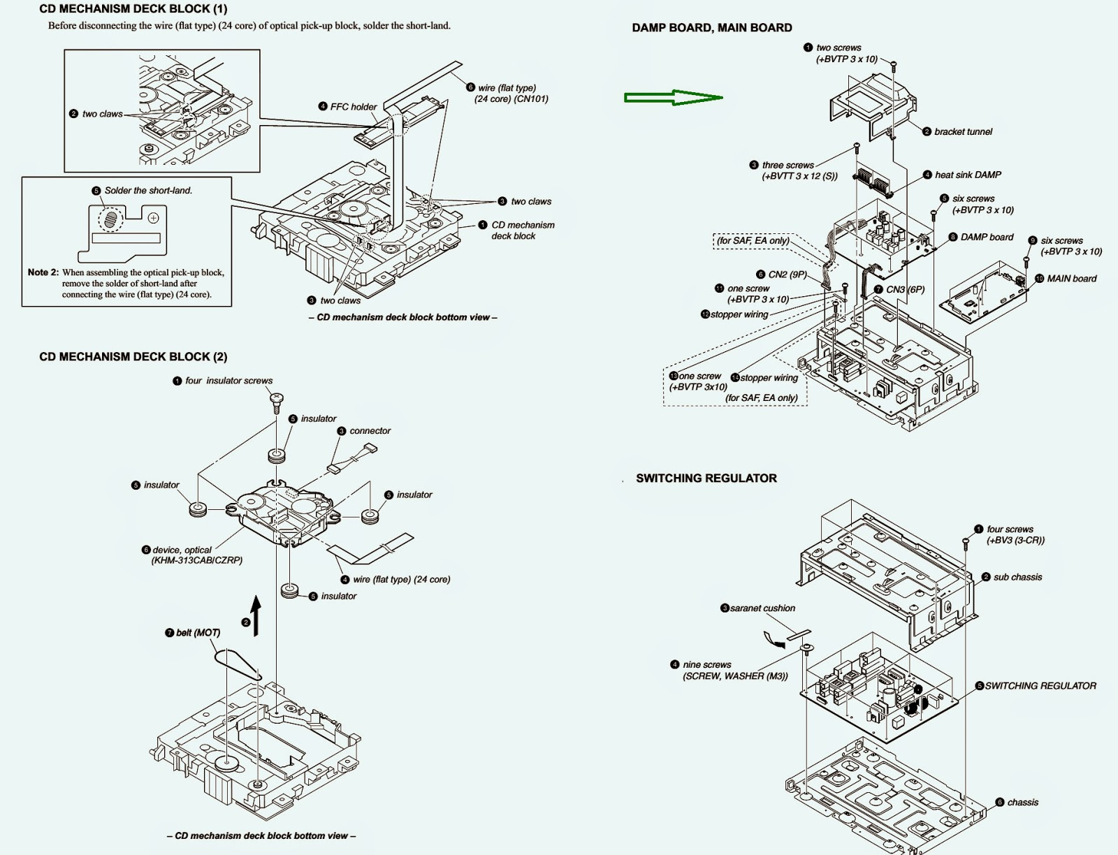 Master Electronics Repair    Sony Hcd-sh2000