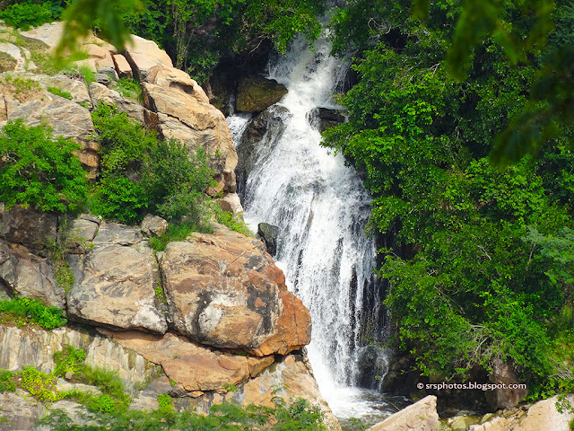 The other Fall of the Chunchi Falls, can be Seen from Watch Tower, Kanakapura, Bangalore, Karnataka