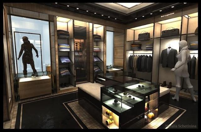Thiết kế shop thời trang nhỏ đẹp - Mẫu số 15