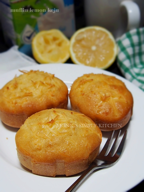 muffin lemon keju