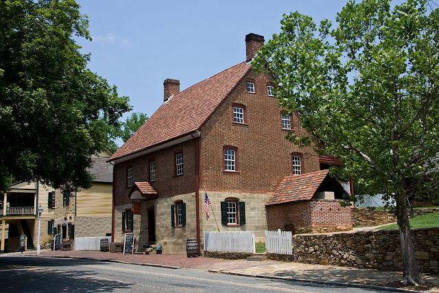 Old Salem calles en Carolina del Norte