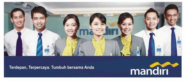 Lowongan Kerja Terbaru Staf Bank Mandiri Untuk SMK-S1 Semua Jurusan - Area Penempatan Seluruh Indonesia