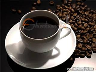 Uống cafe cũng giúp giảm cân