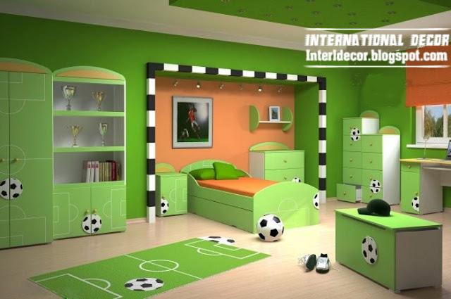 Boys Football Bedroom Ideas - 5 Small Interior Ideas